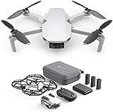 DJI Mavic Mini Fly More Combo (EU) – Drohne und Zubehör Kit, leicht und tragbar, Flugzeit: 30...