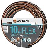 Gardena Comfort FLEX Schlauch 13 mm (1/2 Zoll), 10 m: Formstabiler, flexibler Gartenschlauch mit...