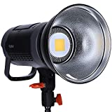 Rollei Soluna II-60, LED-Dauerlicht/Video-Leuchte mit 60 Watt und Bowens-Anschluss einem CRI Wert...