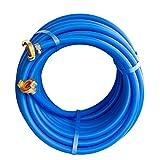 Quarzflex® Trinkwasserschlauch 13 mm (1/2'), 10 m Rolle, komplett monitiert mit GEKA Plus...