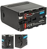 BAXXTAR PRO - Ersatz für Akku Sony NP-F970 Plus (Black Series/10500mAh) - LG Cells Inside - mit...