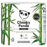 The Cheeky Panda Toilettenpapier, 100Prozent Bambus, weich, hautfreundlich, Super Saugfähig,...