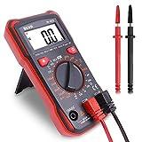 Digital Multimeter Durchgangsprüfer Multimeter Voltmeter, AC/DC Multi Tester Spannung, Strom,...