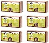 Coco&Coir® 6 x 650g (9L) Kokoserde | Kokosblumenerde| Kokospflanzerde | Kokos-Kompost | Blumenerde...