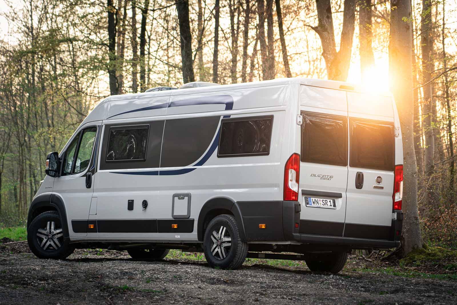 Unser aktuelles Reisegefährt – der Van