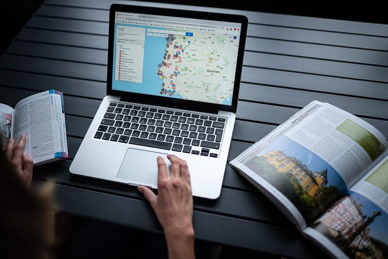 Reiseplanung online