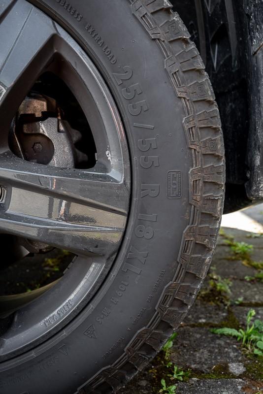 Tragfähigkeit Reifen und Felgen