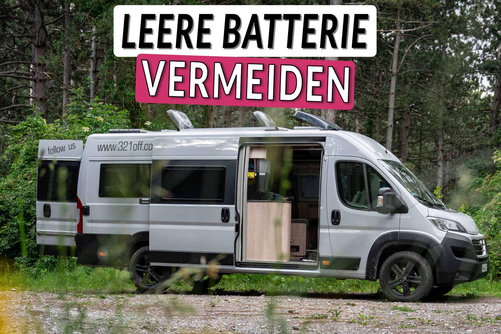 Wohnmobil Stromverbrauch berechnen